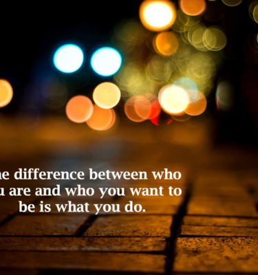 the-difference-between-who-you-are
